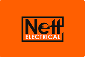Nett Electrical- Electrical Contractor Logo Design