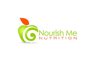 Nourish Me Nutrition- Health Logo design